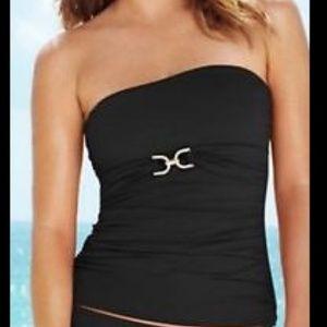 Michael Kors Black Tankini Size XS